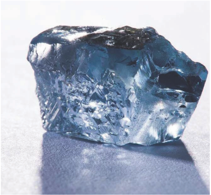 Blue Diamond rare cut