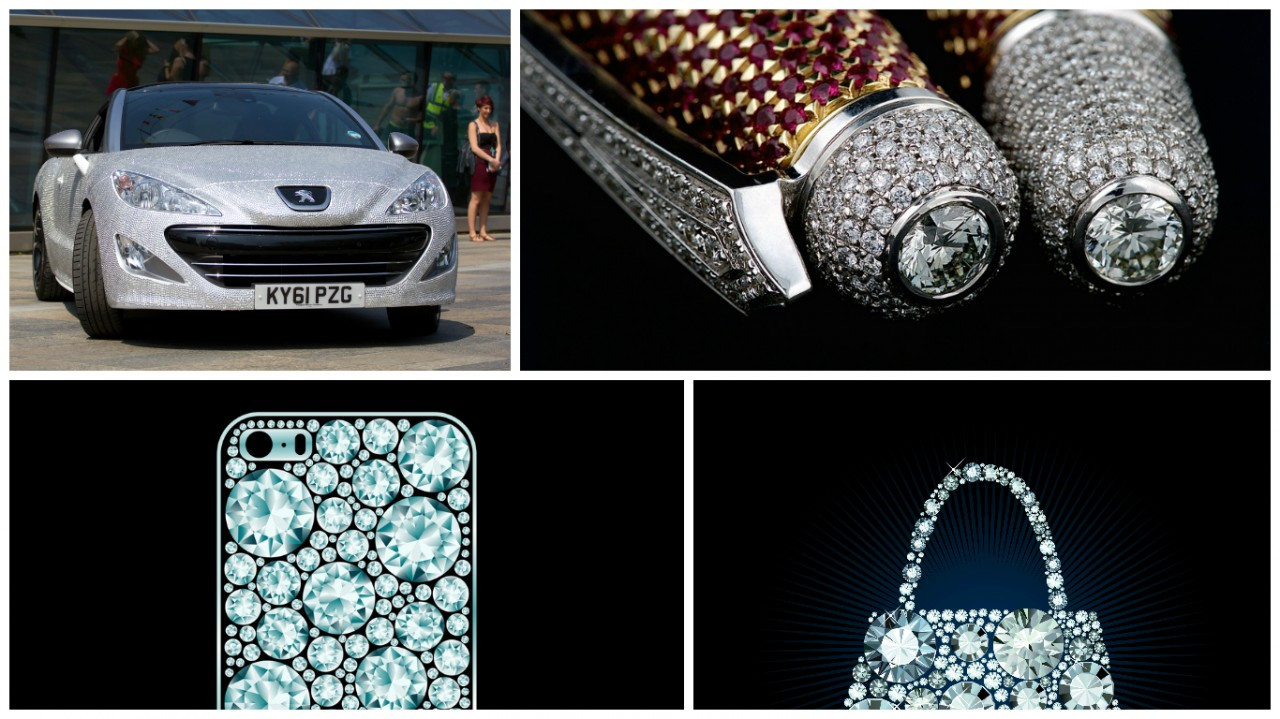 The Top 10 Most Creative (and Outrageous) Products Made with Diamonds  - Part 1